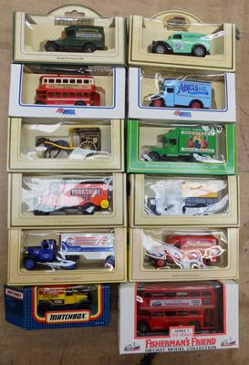 12x Boxed diecast