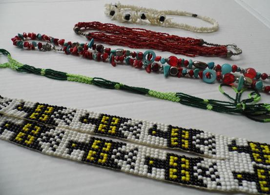 Selection of Navajo/native Indian jewellery