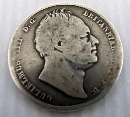 Old silver half crown-William 1111-1834