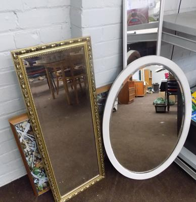 Selection of pictures & mirrors