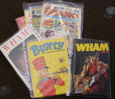 Collection of mainly 1980's comics & annuals