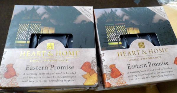 10 Sets of 9 Eastern promise candles