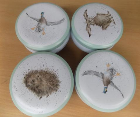 4x New Royal Worcester candle sets