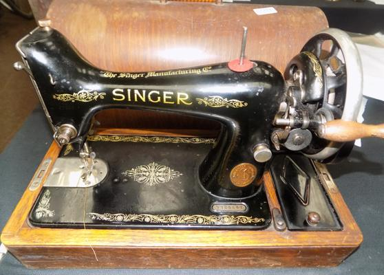 Singer table top machine