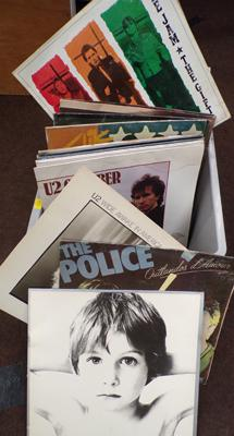 Box of 1980's albums