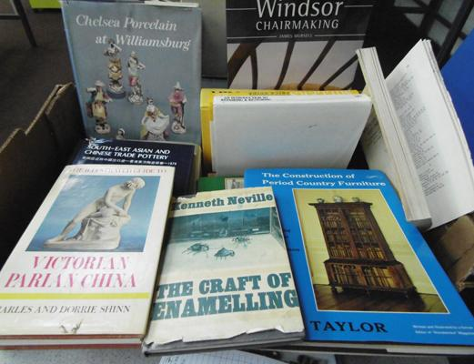 Box of Millers Guide & books on antiques