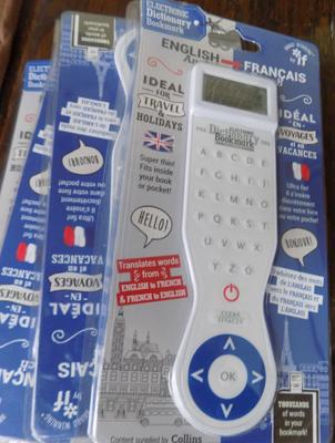 4 new French/English electronic dictionaries