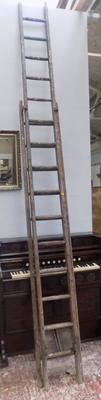 Double ladders (one 10 rung & one 15 rung)
