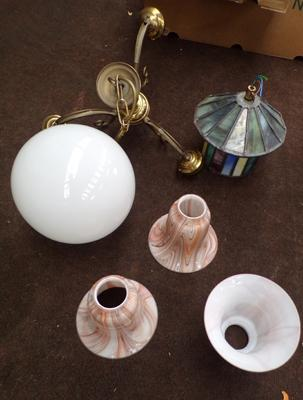 Selection of vintage lightshades