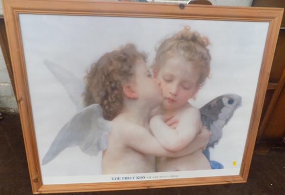 Framed print - 'The First Kiss'