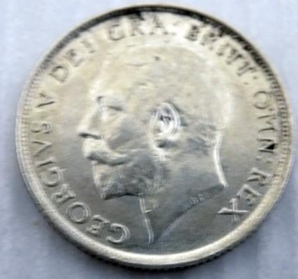 1912 one Shilling coin
