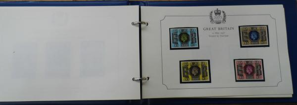 1977 Silver Jubilee stamp album, complete