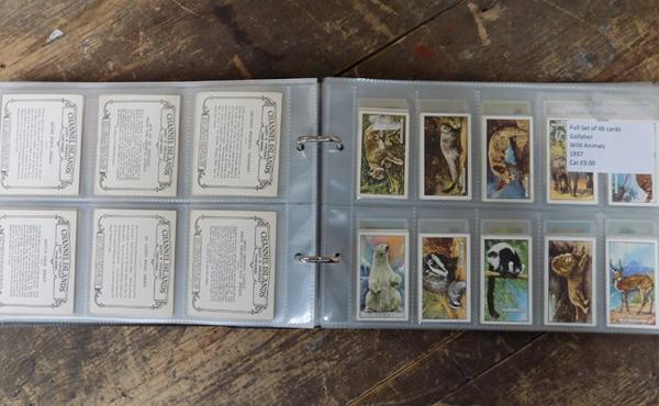 10x Full sets of cigarette cards