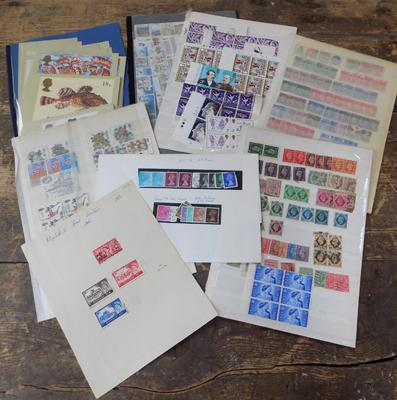 GB mixed incl. PHQ cards, blocks, commems etc.