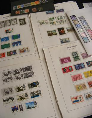 Collection of GB stamps, postage dues, Queen Victoria etc
