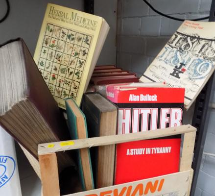 Large selection of vintage books