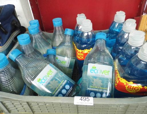 16 bottles of washing up liquid, incl. Eco Friendly