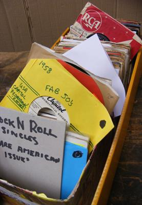 Box of Rock and Roll singles