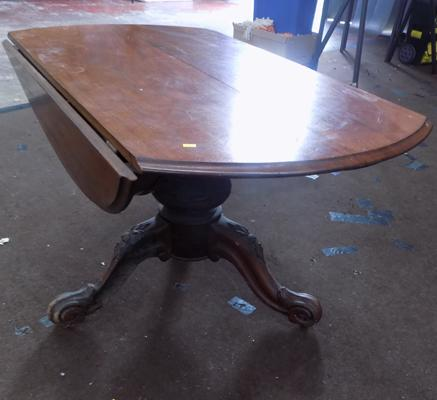 Large occasional, tilting & folding table