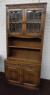 Old Charm display cabinet & cupboard