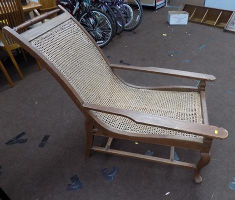 Old lounger chair