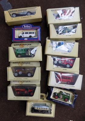 12 boxed collectable toy cars & lorries etc..., incl. models of Yesteryear