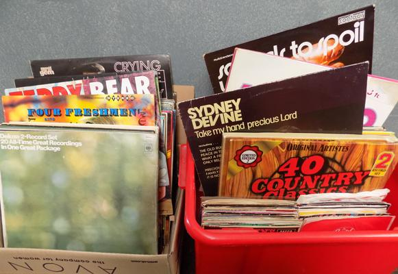 Selection of albums & 45s