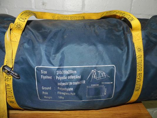 Large awning tent in bag - unchecked