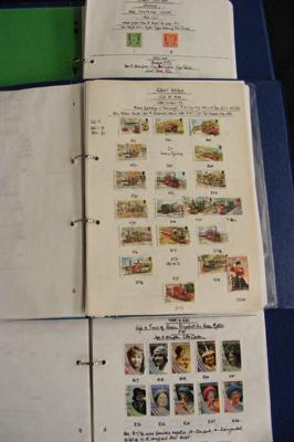 3x Well filled albums of Channel Island stamps