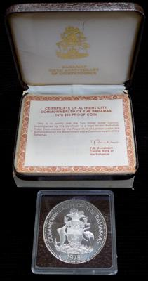 Large solid silver Prince Charles silver proof $10 37 grams