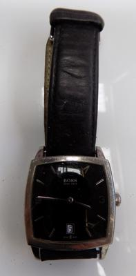 Genuine gents Hugo Boss watch with black dial