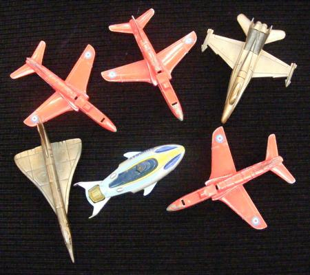 Collection of aeroplanes inc Matchbox etc
