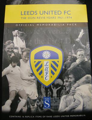 Official memorabilia pack Leeds Utd-The Don Revie years