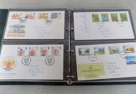 Large collection of Post Office first day covers
