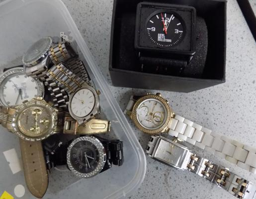 Selection of watches for repair