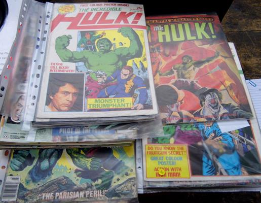 18x Collectable comics