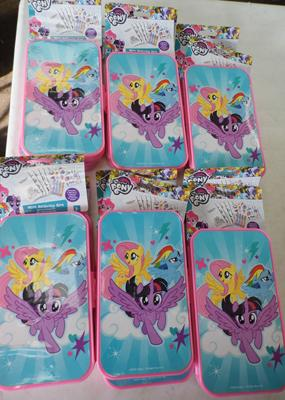 12x New 'My Little Pony' activity sets