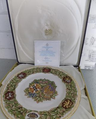 The Royal Wedding plate, Prince of Wales and Lady Diane Spencer - no.187