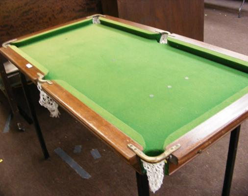 "Antique slate bed Riley table top snooker table - 28"" x 52"""