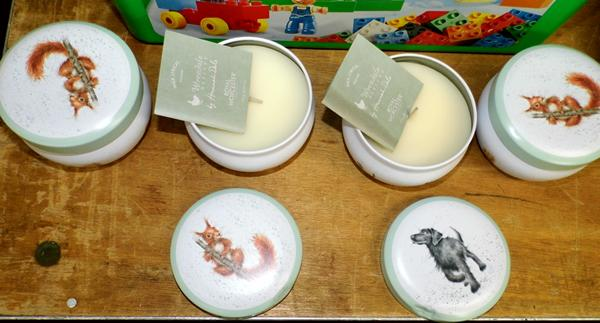 4x Royal Worcester candle sets