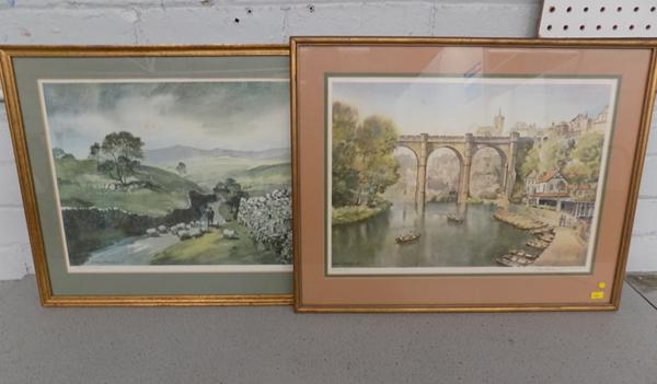 2x local interest pictures signed Sam Chadwick
