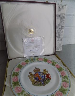 Queen Mother Mulberry plate - no.58