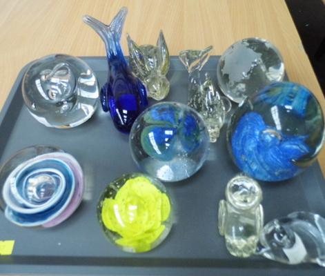 Mixed glass items