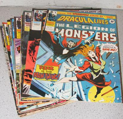 15 collectable Marvel comics