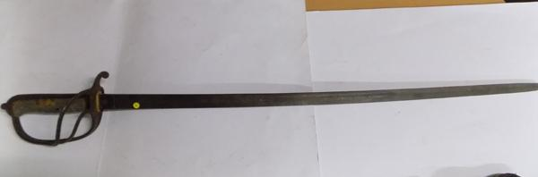 British Officers sword