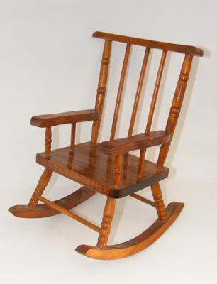 Apprentice small doll's rocking chair