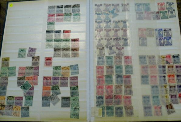 Valuable album of stamps from India