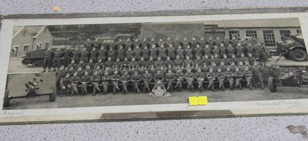 WWII Royal Artillery platoon picture