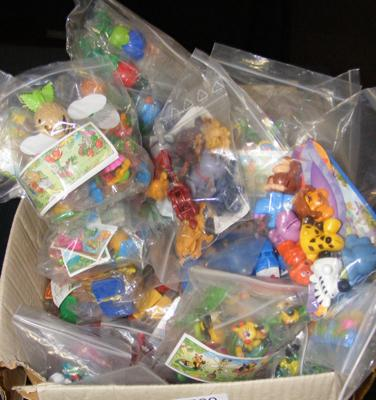 Box of mixed Kinder Surprise toys
