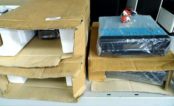 3 Old car stereos (new & boxed)